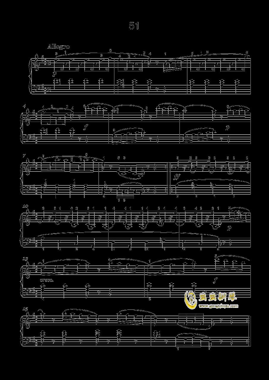 车尔尼-599钢琴谱 第16页