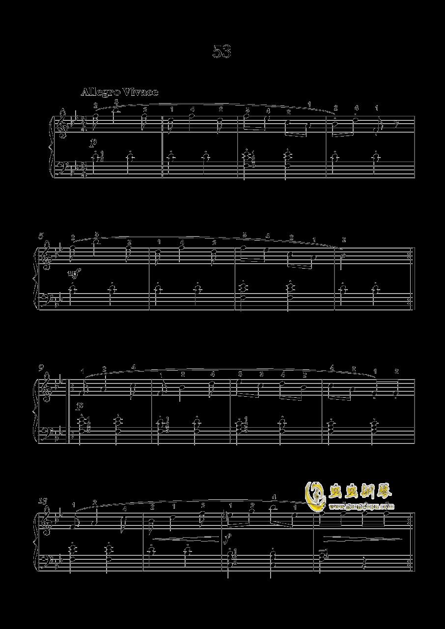 车尔尼-599钢琴谱 第17页