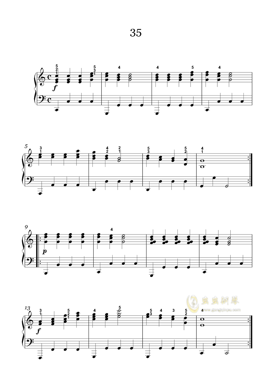 车尔尼-599钢琴谱 第3页