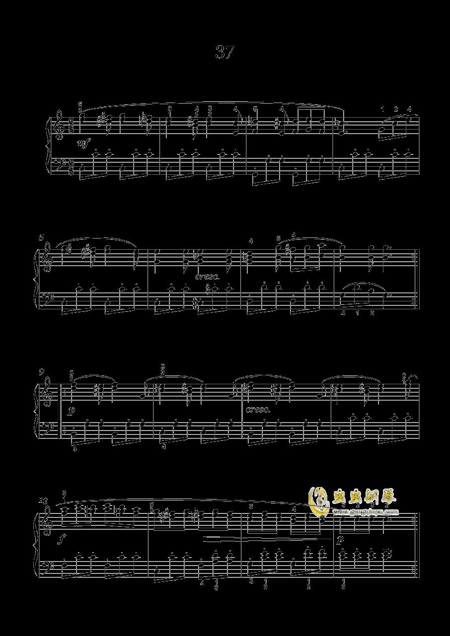 车尔尼-599钢琴谱 第5页