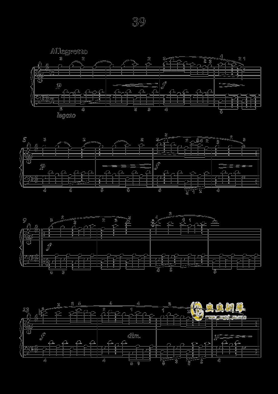 车尔尼-599钢琴谱 第7页