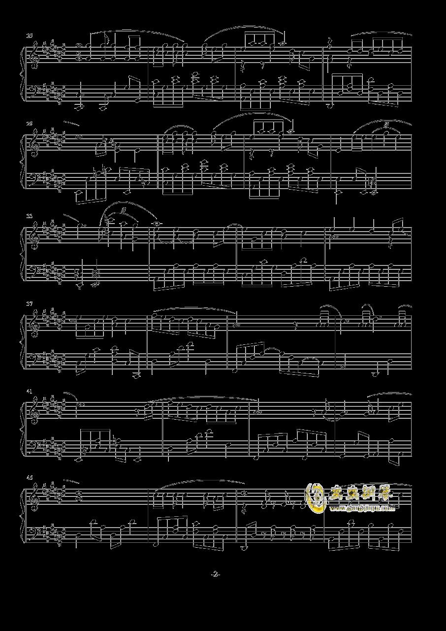 恋爱捉迷藏钢琴谱 第2页