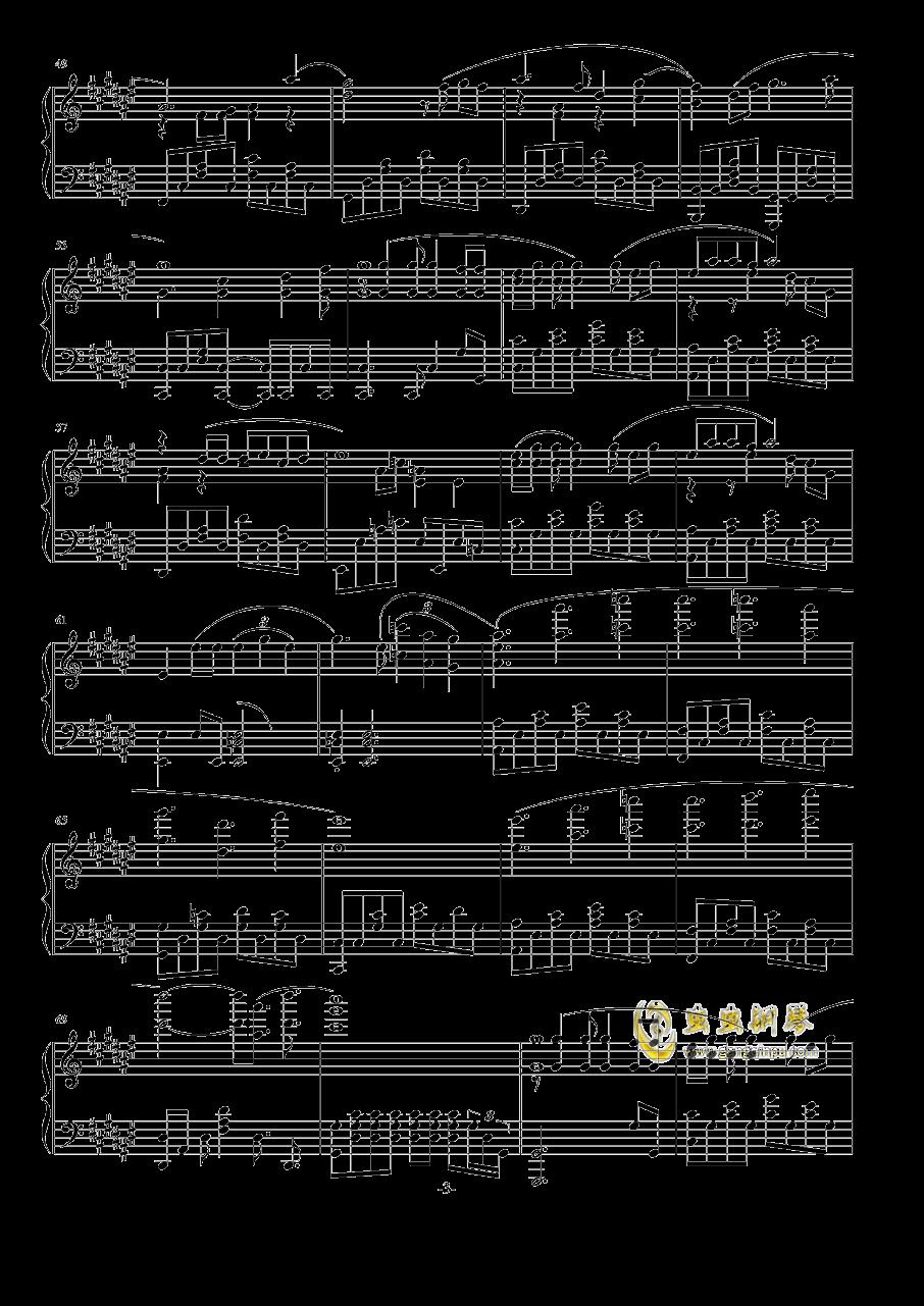 恋爱捉迷藏钢琴谱 第3页