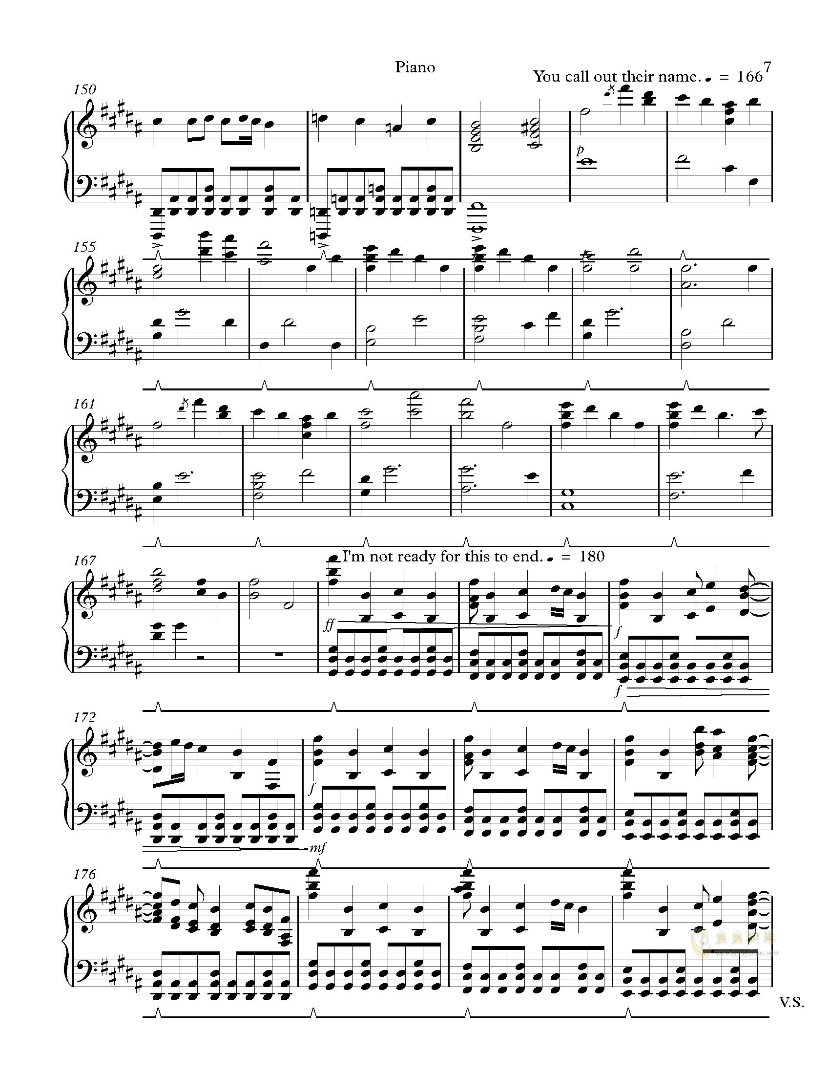 Hopes and Dreams 钢琴谱 第7页