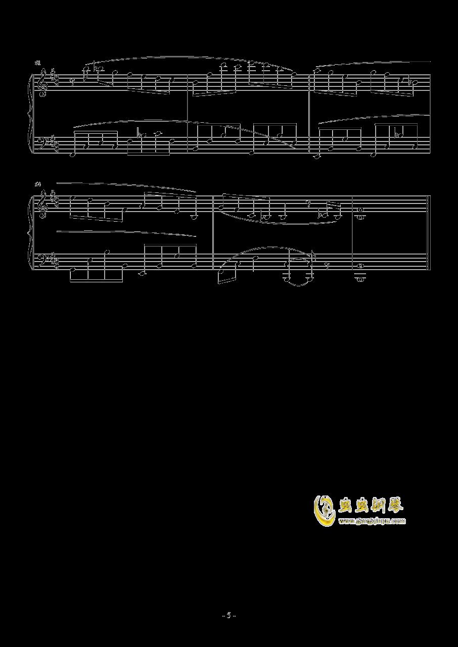toccata钢琴谱 第5页