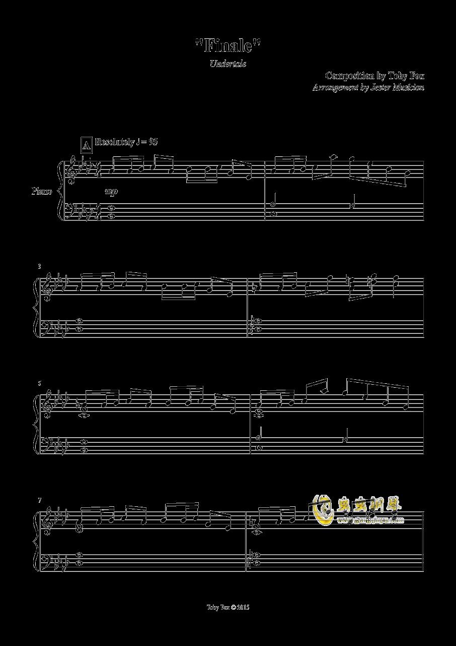 最终 钢琴谱 第1页