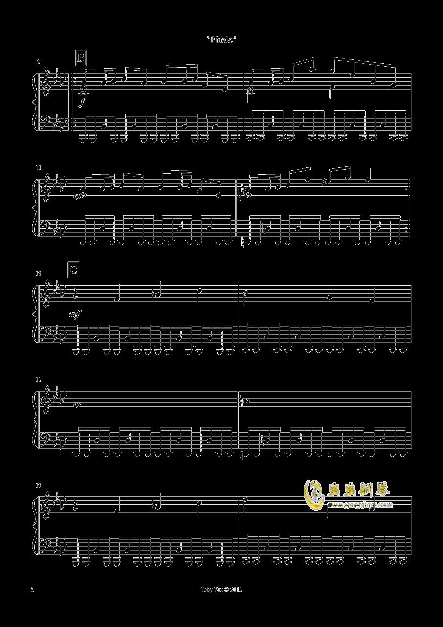 最终 钢琴谱 第2页