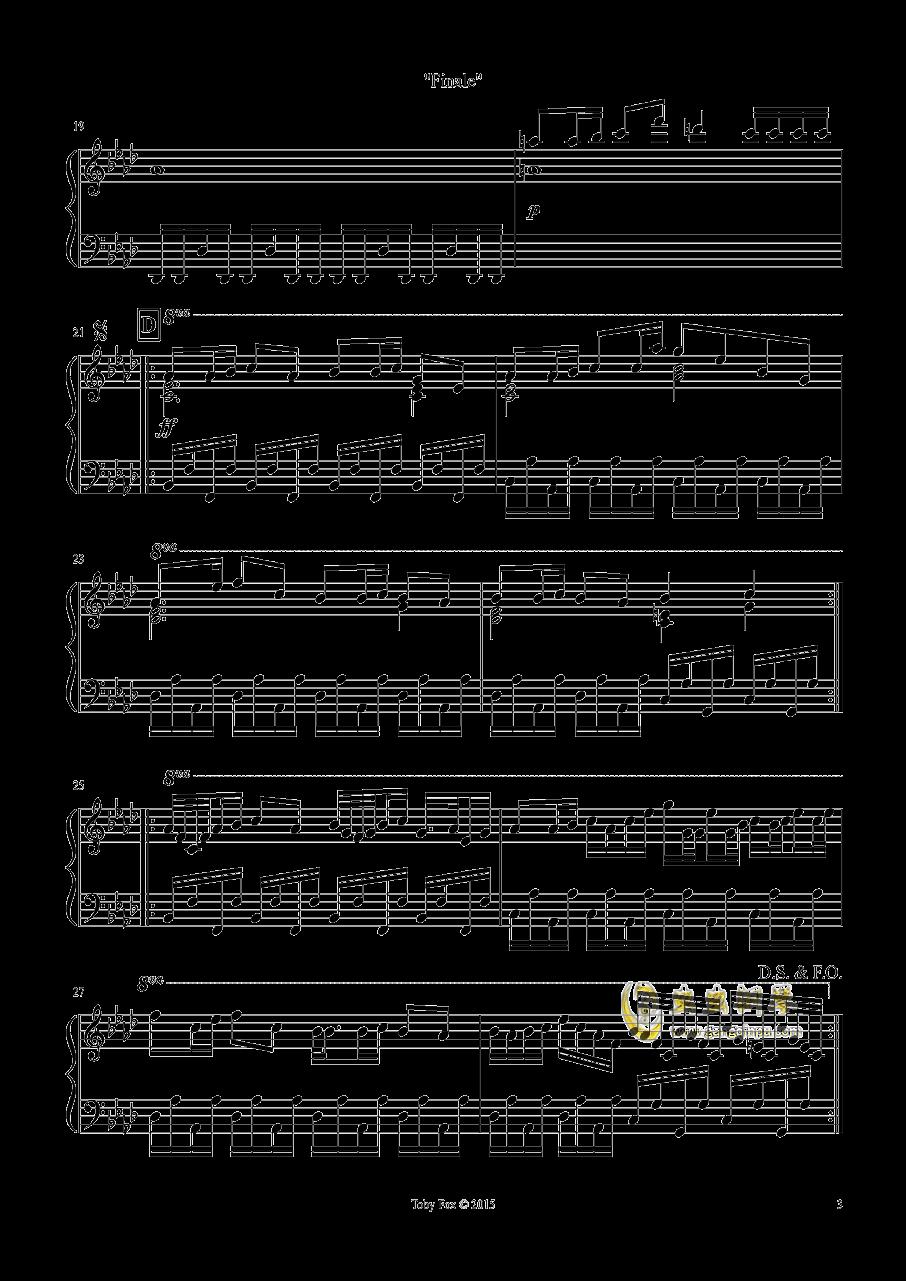 最终 钢琴谱 第3页