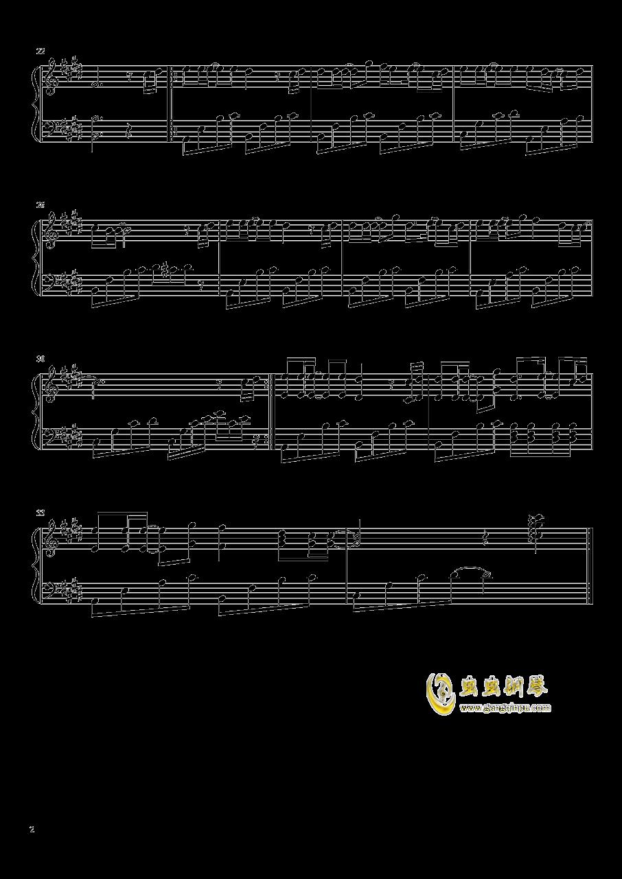 父亲钢琴谱 第2页