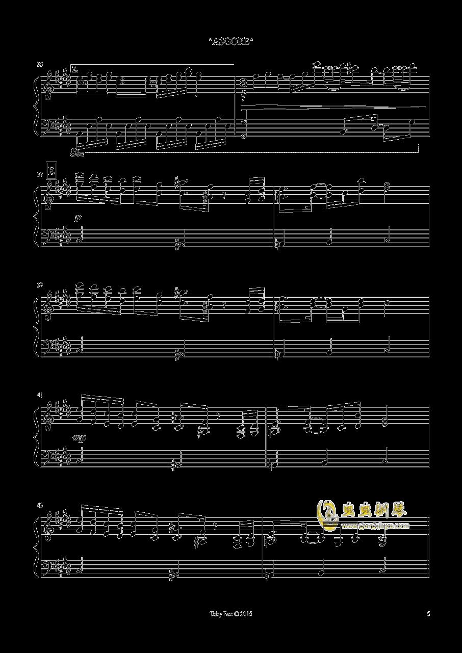 艾斯格尔 钢琴谱 第5页