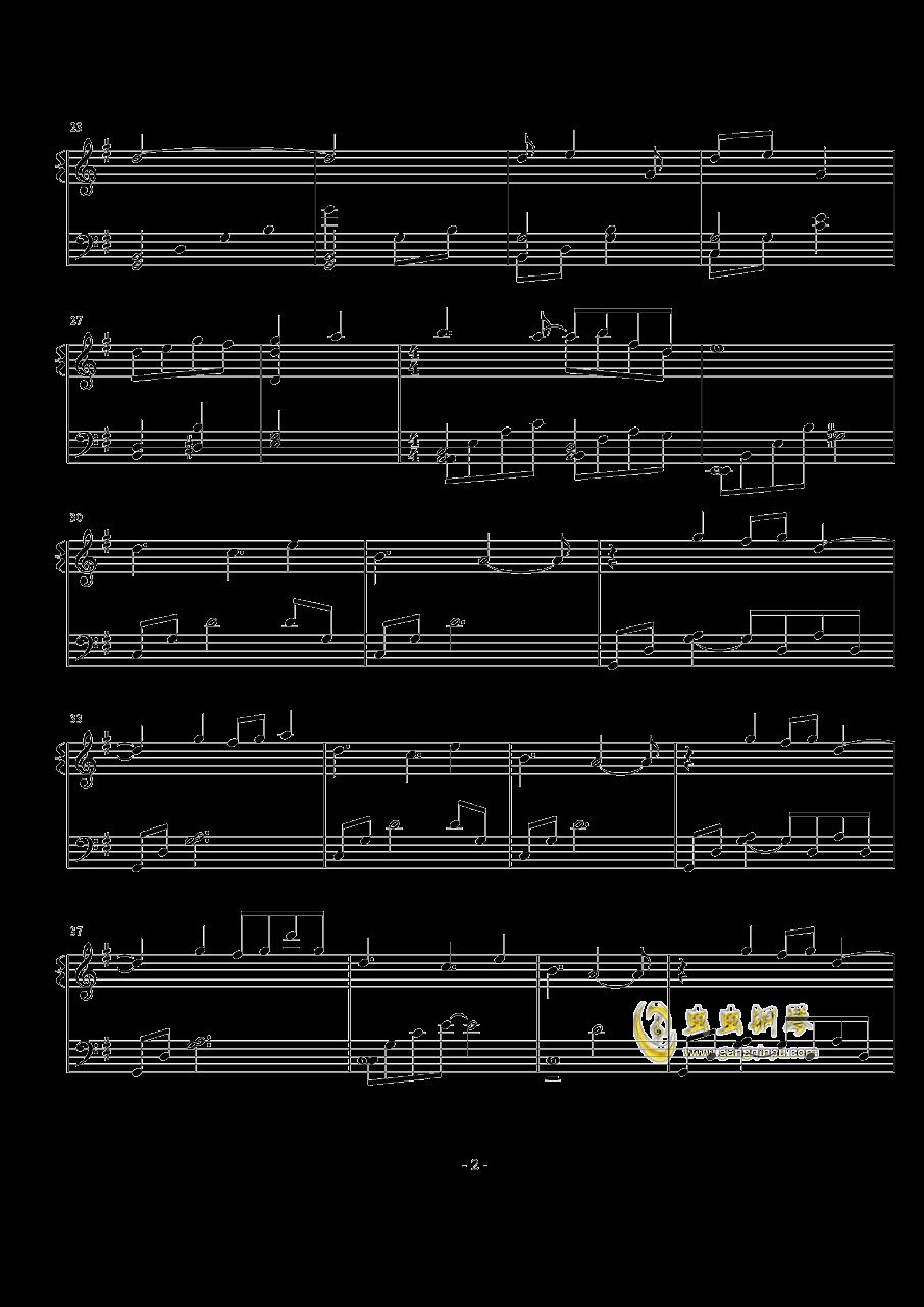 Lilac钢琴谱 第2页