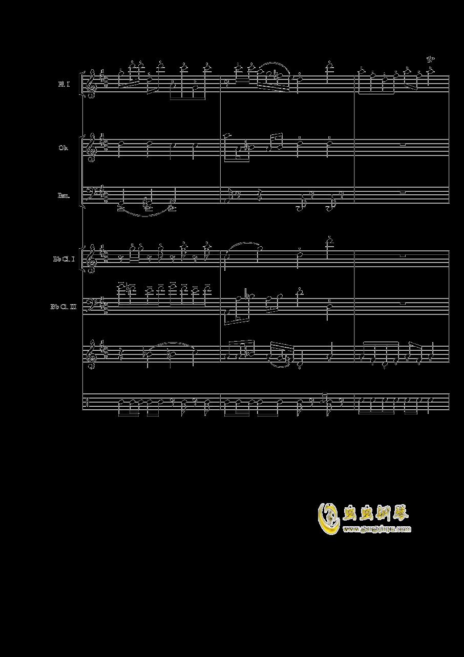 两只鸡的争斗进行曲钢琴谱 第6页