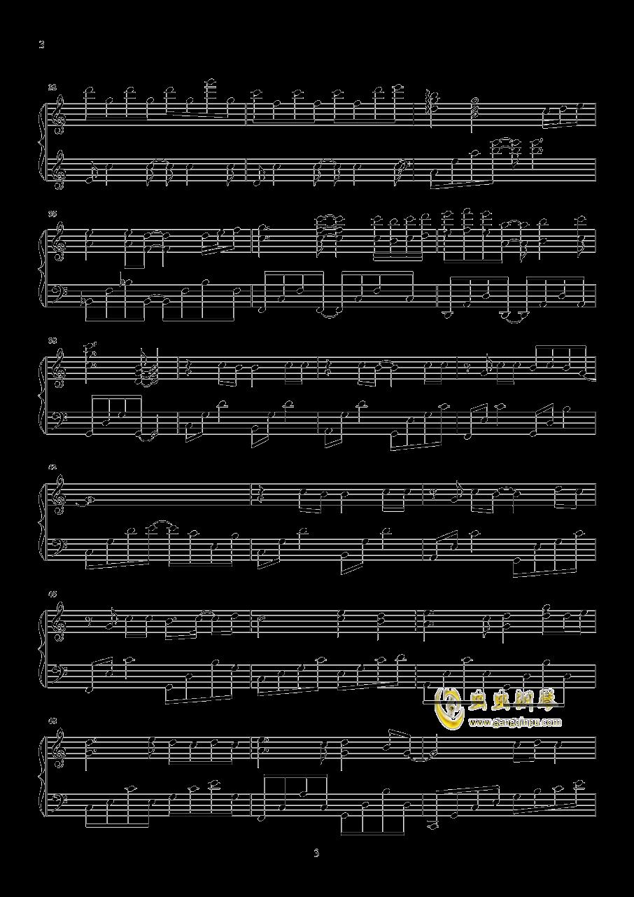 路过我耳朵的忧伤钢琴谱 第3页