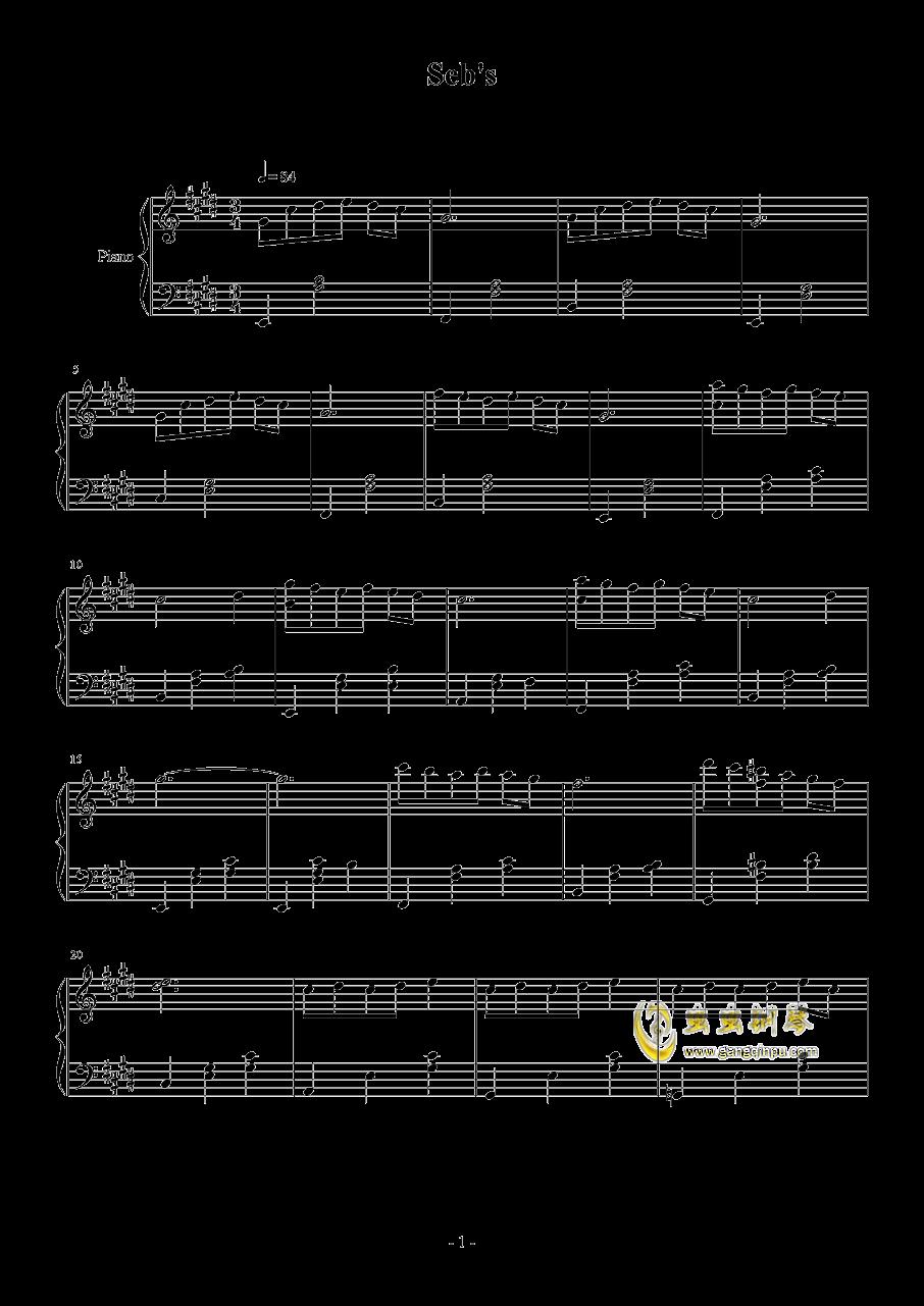 lalaland大提琴谱子