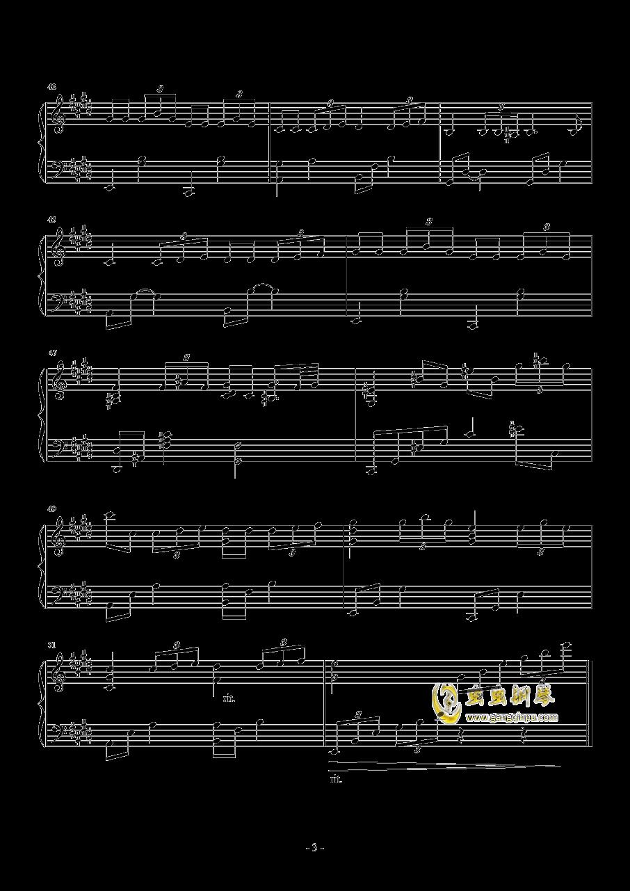 lalaland钢琴谱原谱