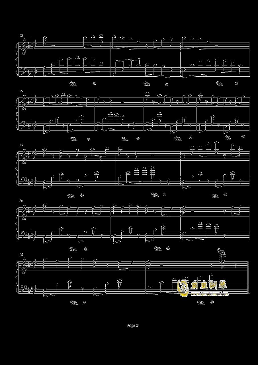 你一定要是个孩子钢琴谱 第3页