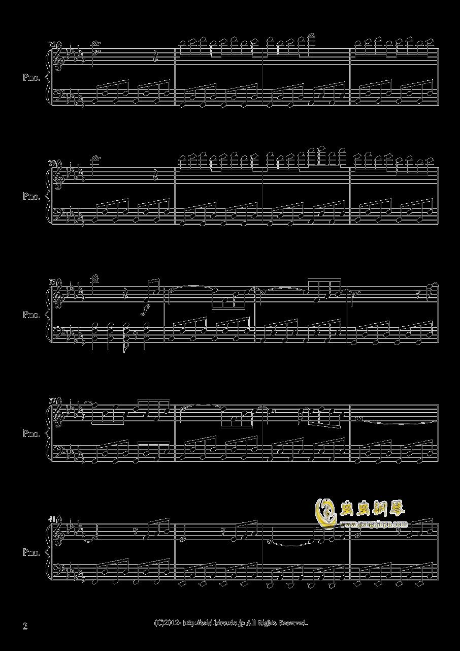 天空的花都钢琴谱 第2页