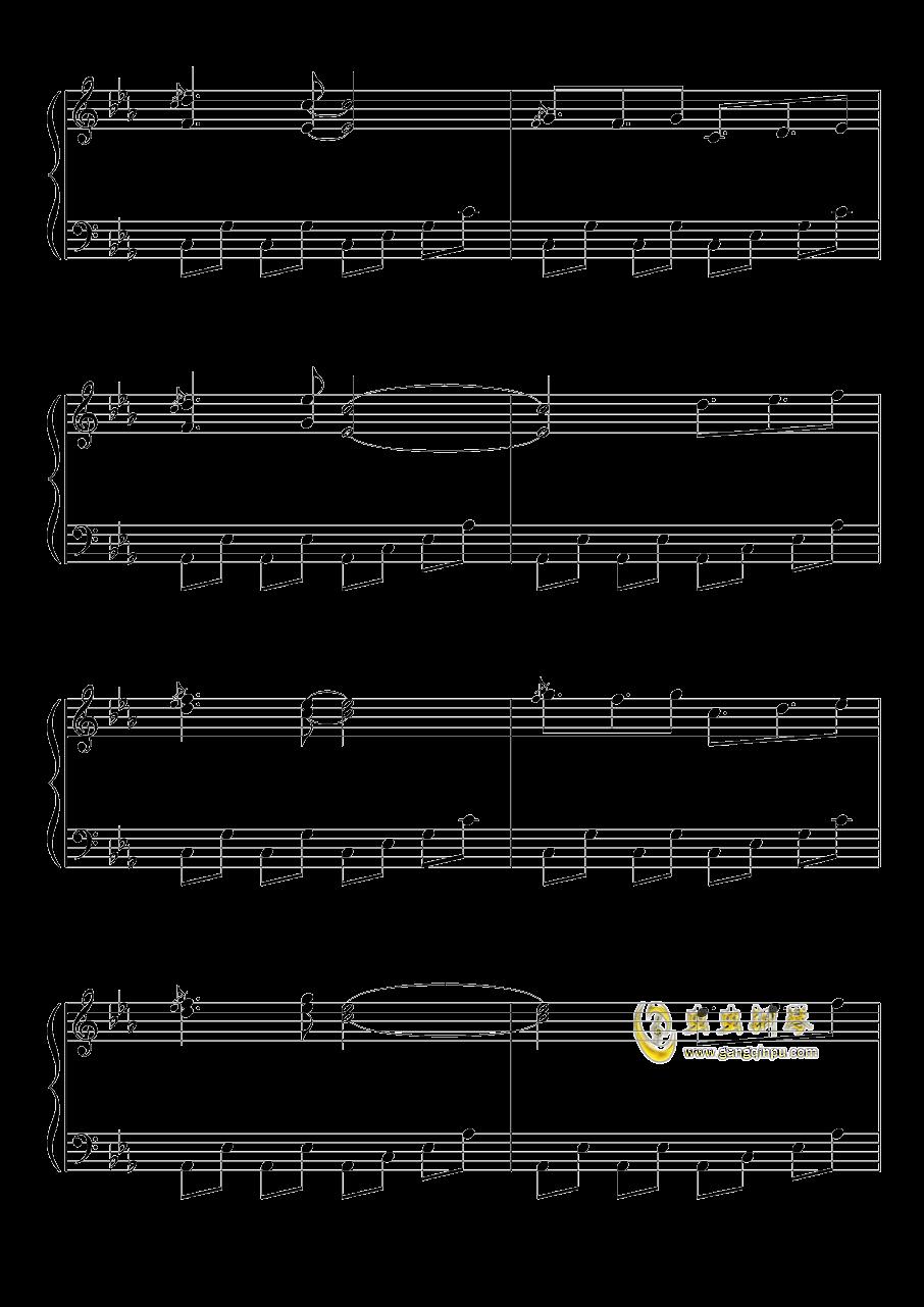 不可思议之国的爱丽丝钢琴谱 第3页