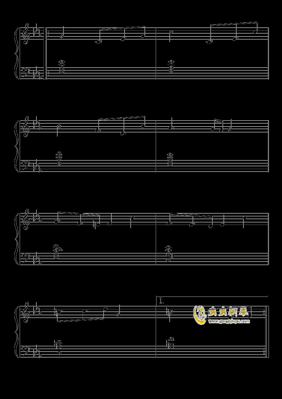 不可思议之国的爱丽丝钢琴谱 第4页
