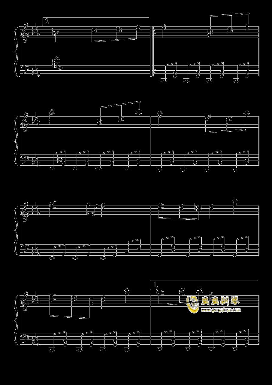 不可思议之国的爱丽丝钢琴谱 第5页