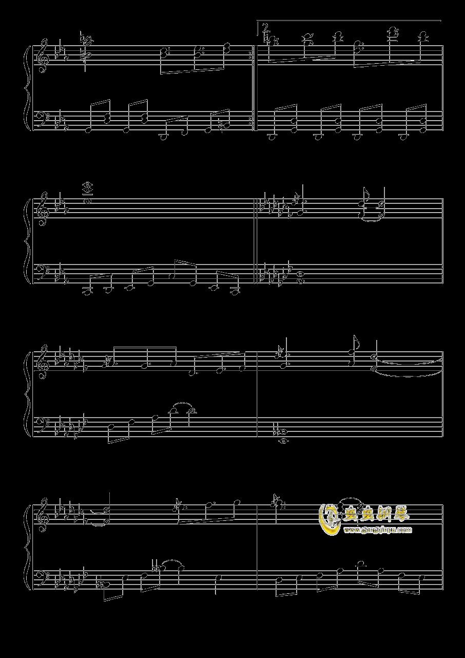 不可思议之国的爱丽丝钢琴谱 第6页