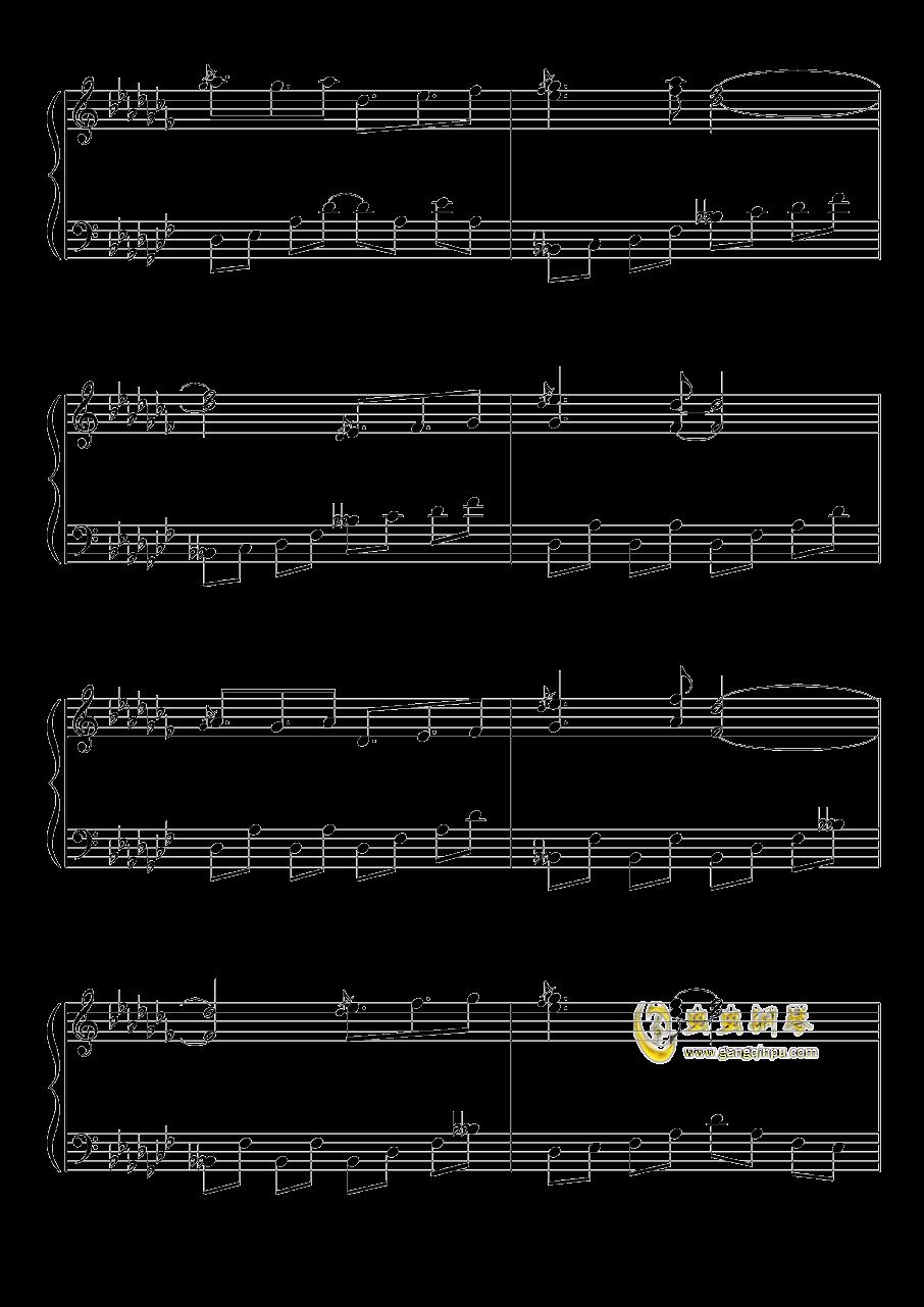 不可思议之国的爱丽丝钢琴谱 第7页