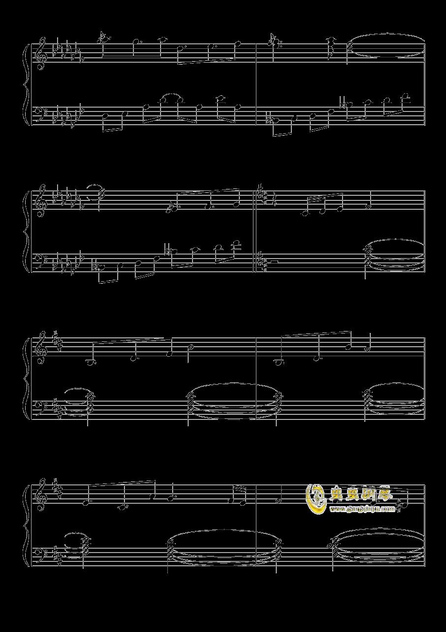 不可思议之国的爱丽丝钢琴谱 第8页