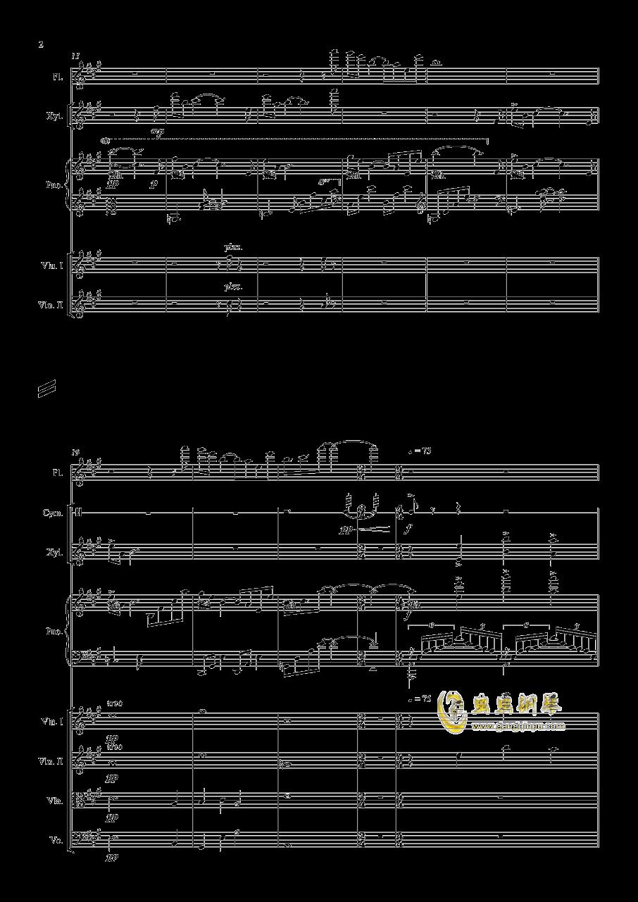 Long Summer钢琴谱 第2页
