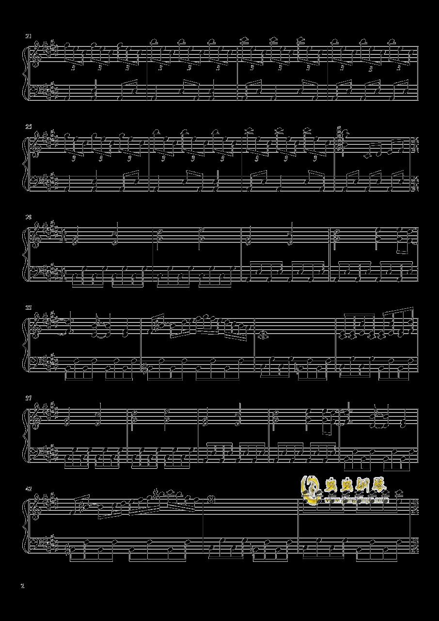 女仆与血之怀表钢琴谱 第2页