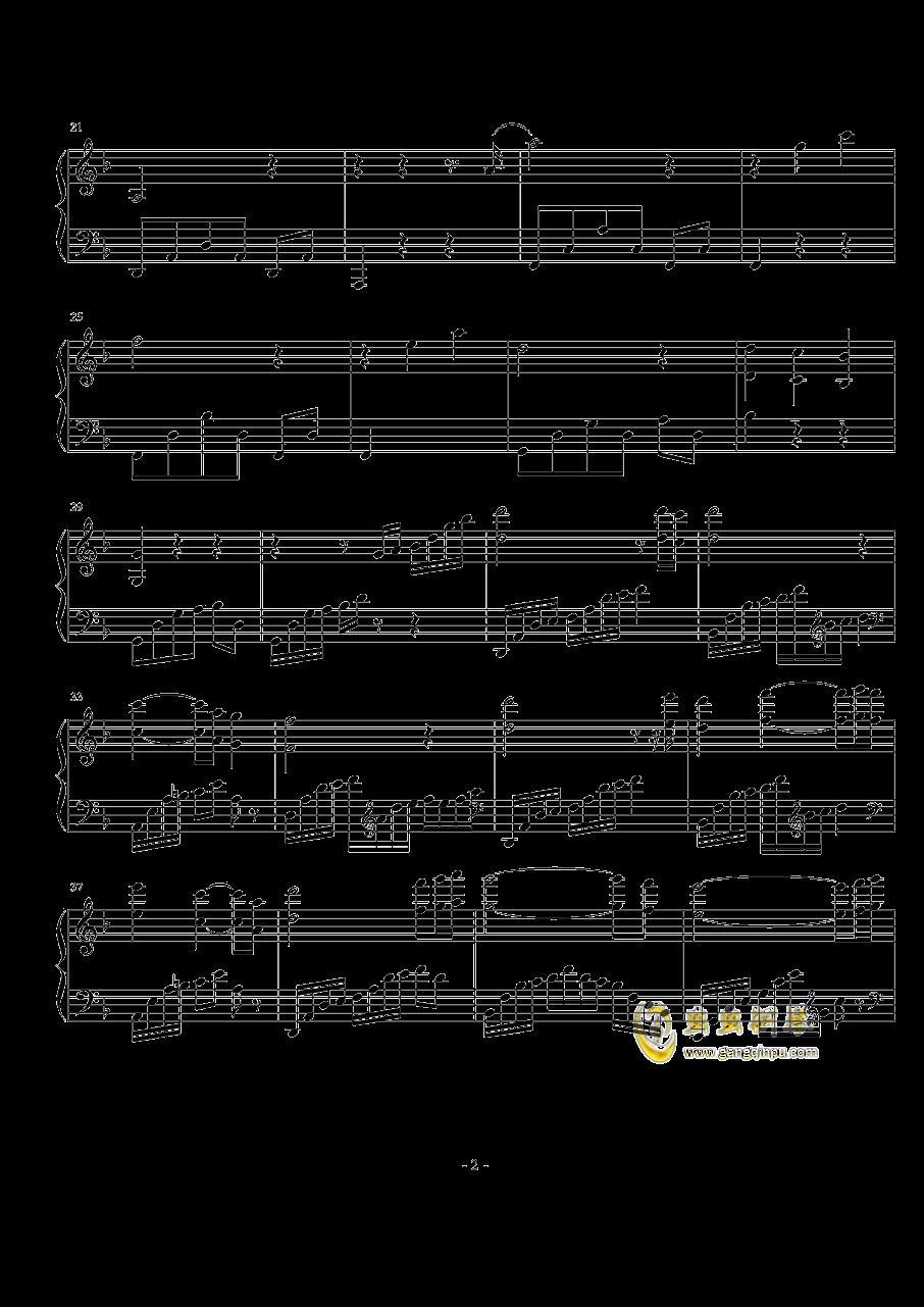 Beyond Rangoon钢琴谱 第2页