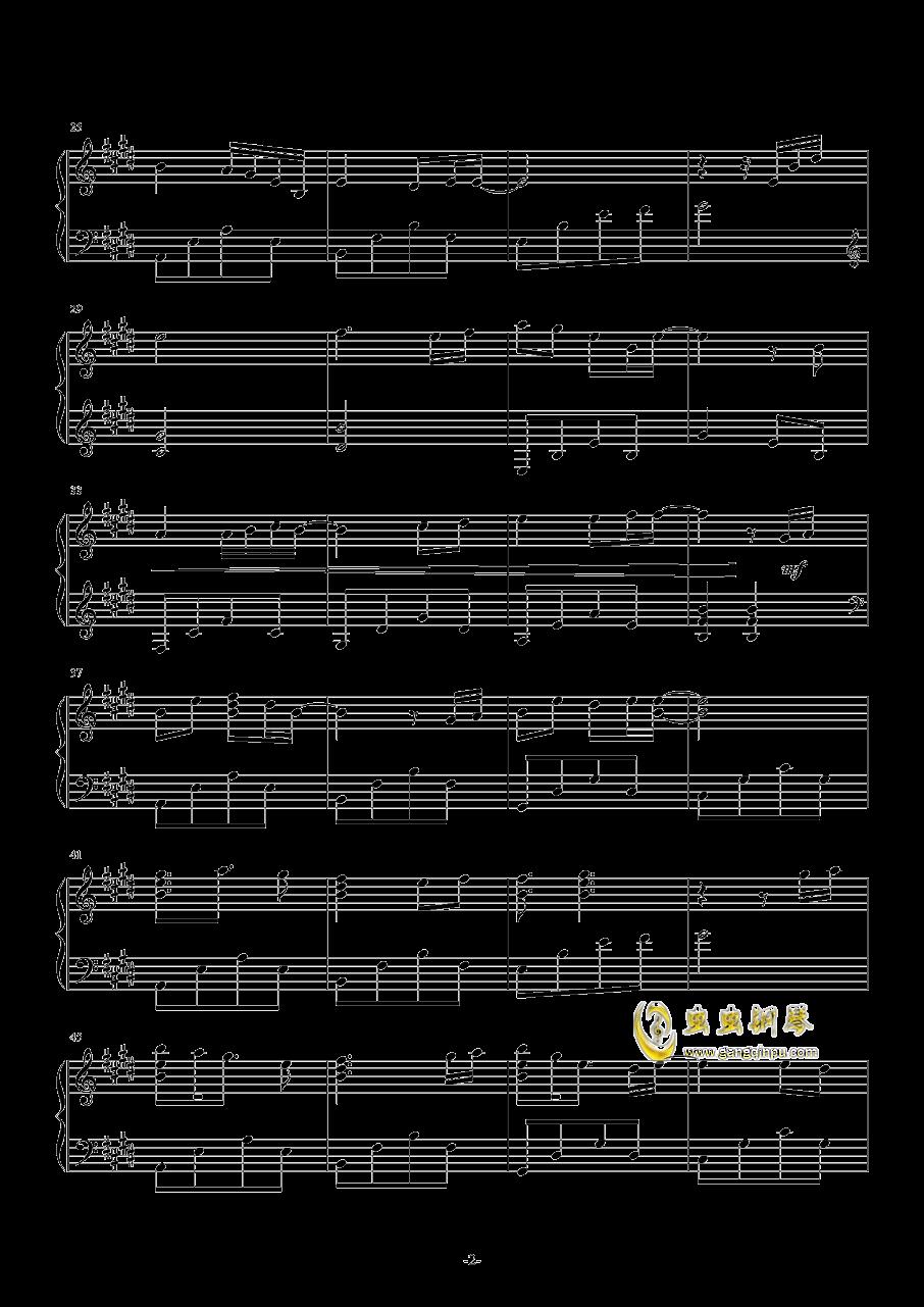 Ice-blue Star钢琴谱 第2页