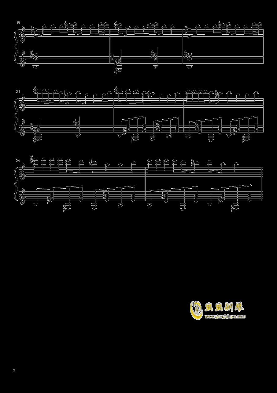 伊娃的波尔卡 钢琴谱 第2页