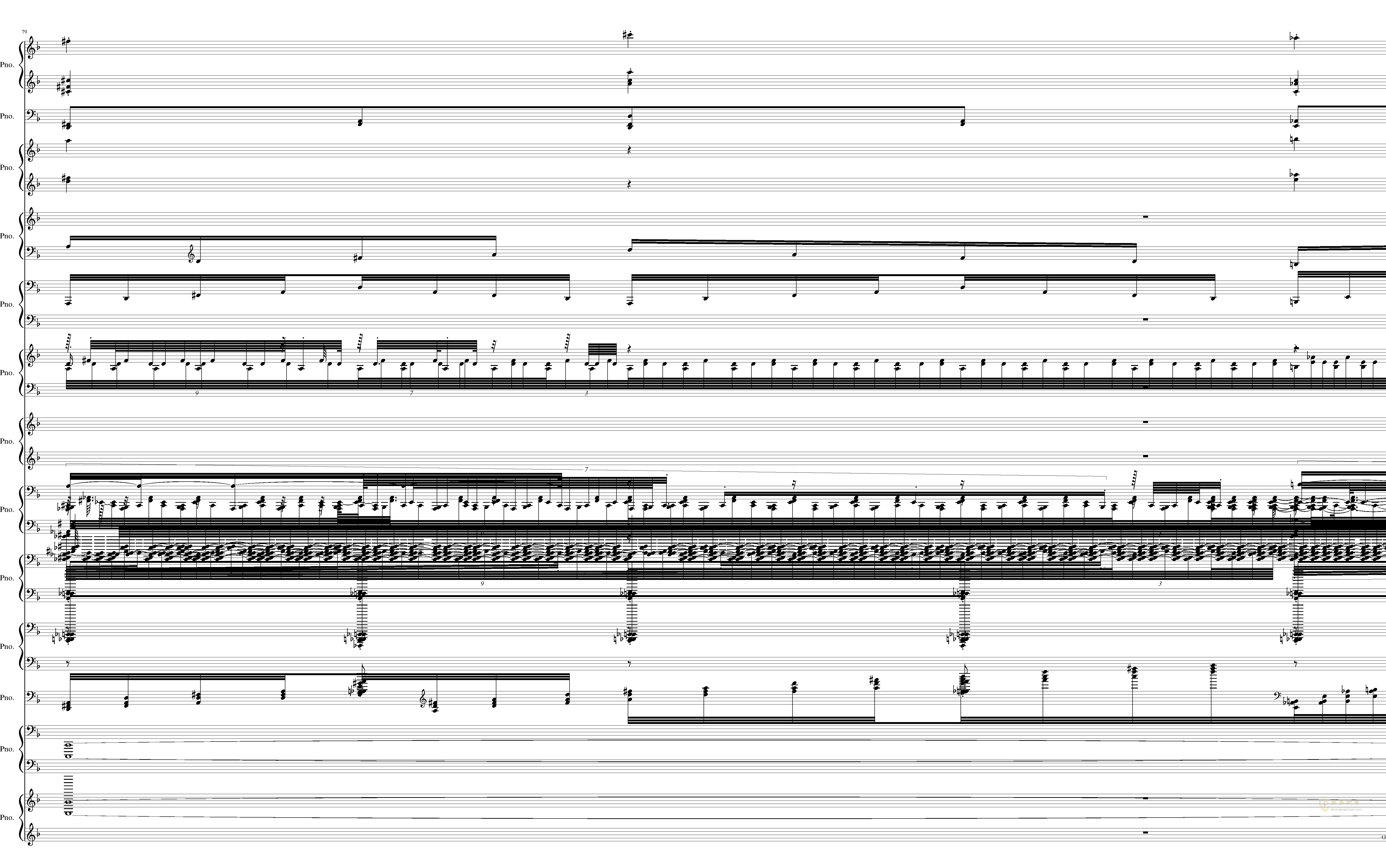 U.N. Owen was Her钢琴谱 第43页
