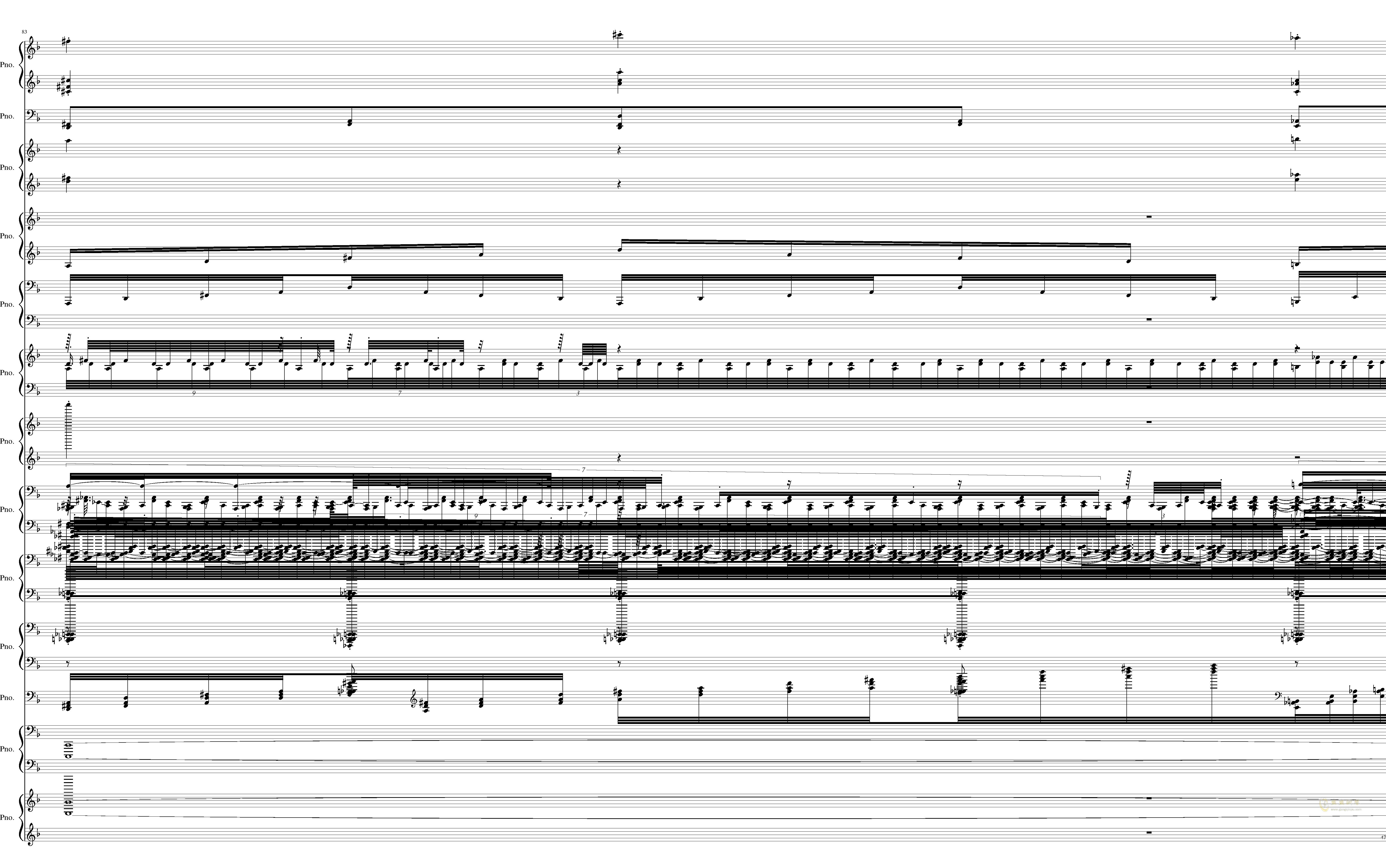 U.N. Owen was Her钢琴谱 第47页