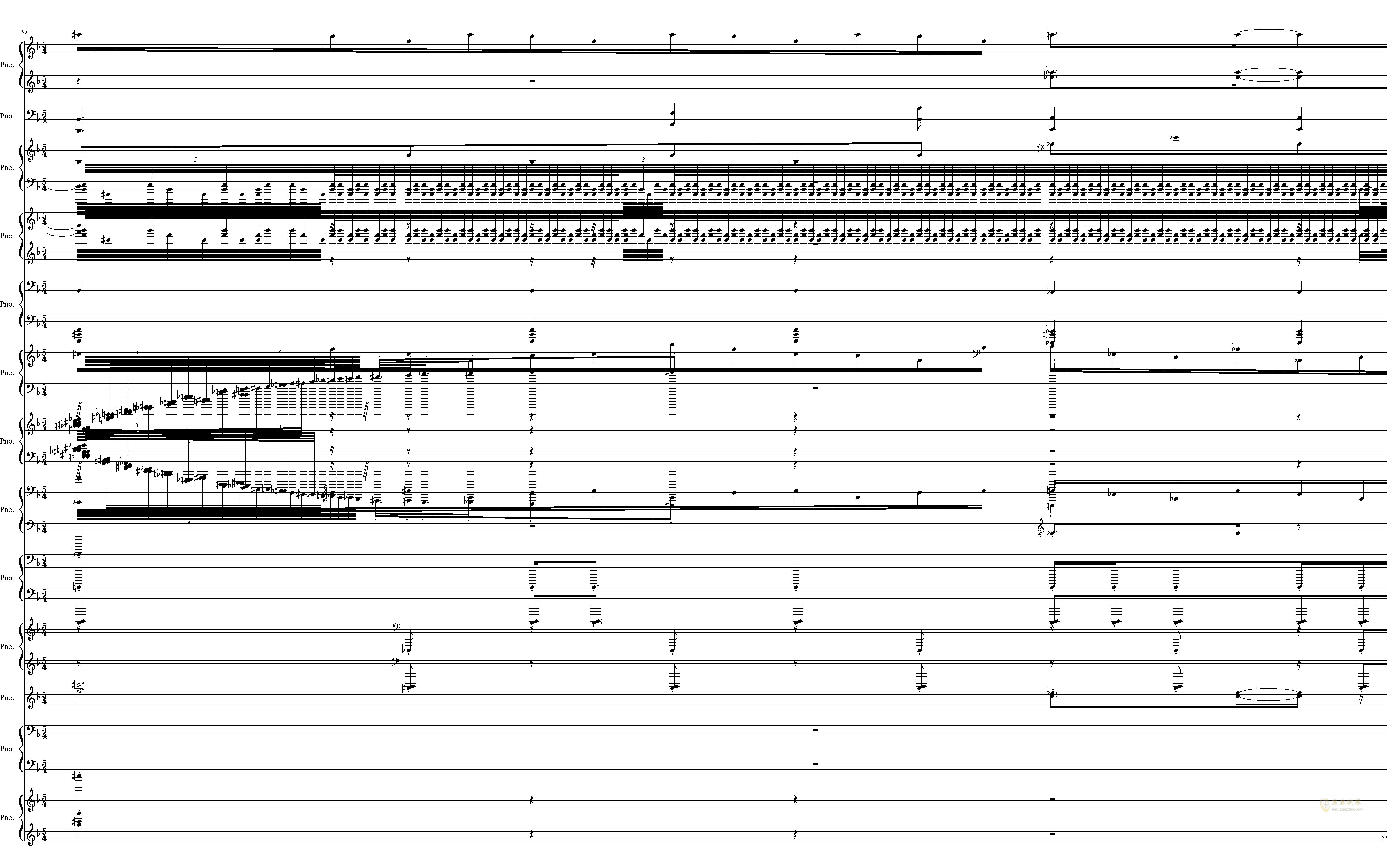 U.N. Owen was Her钢琴谱 第59页