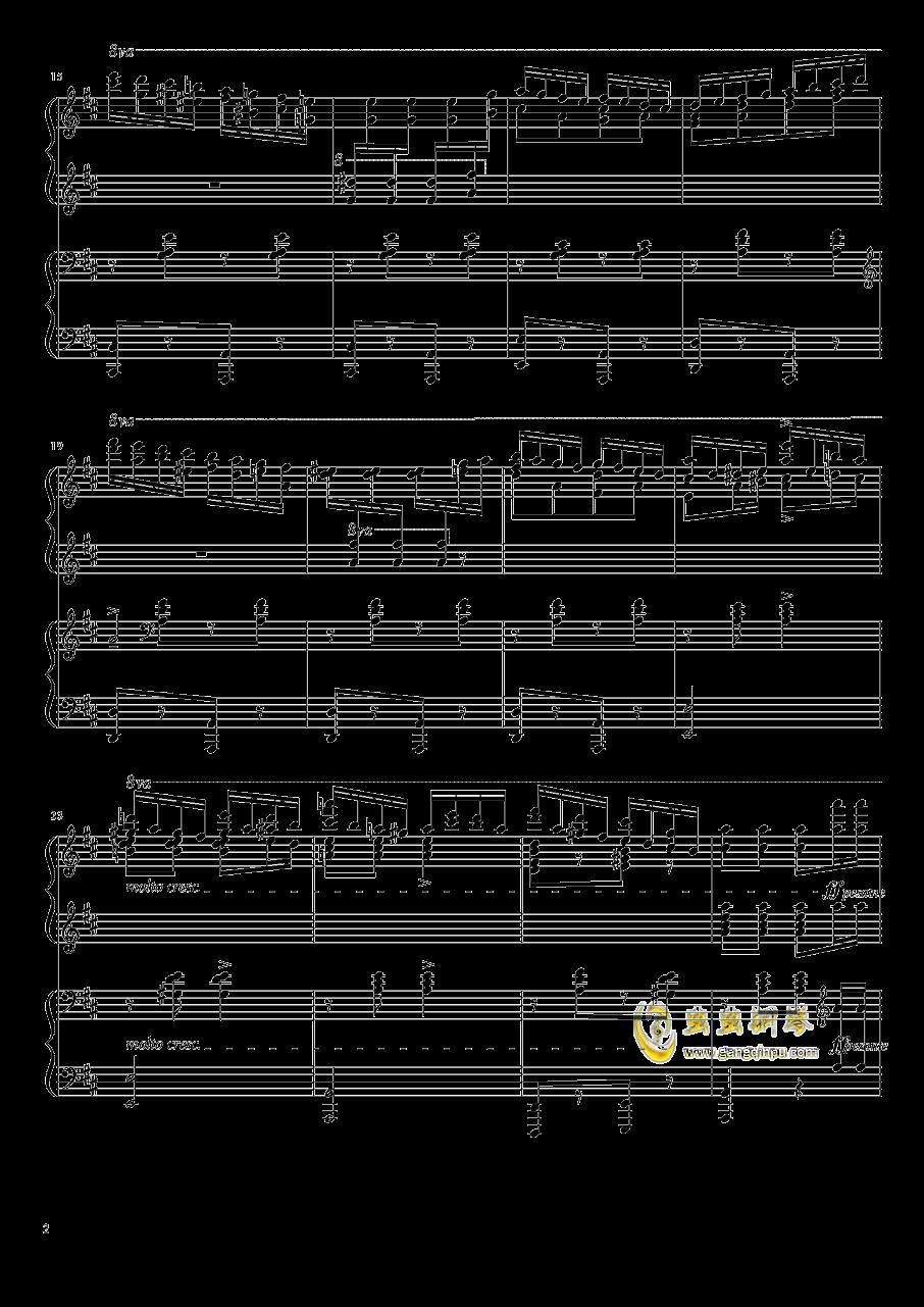 意大利波尔卡钢琴谱 第2页