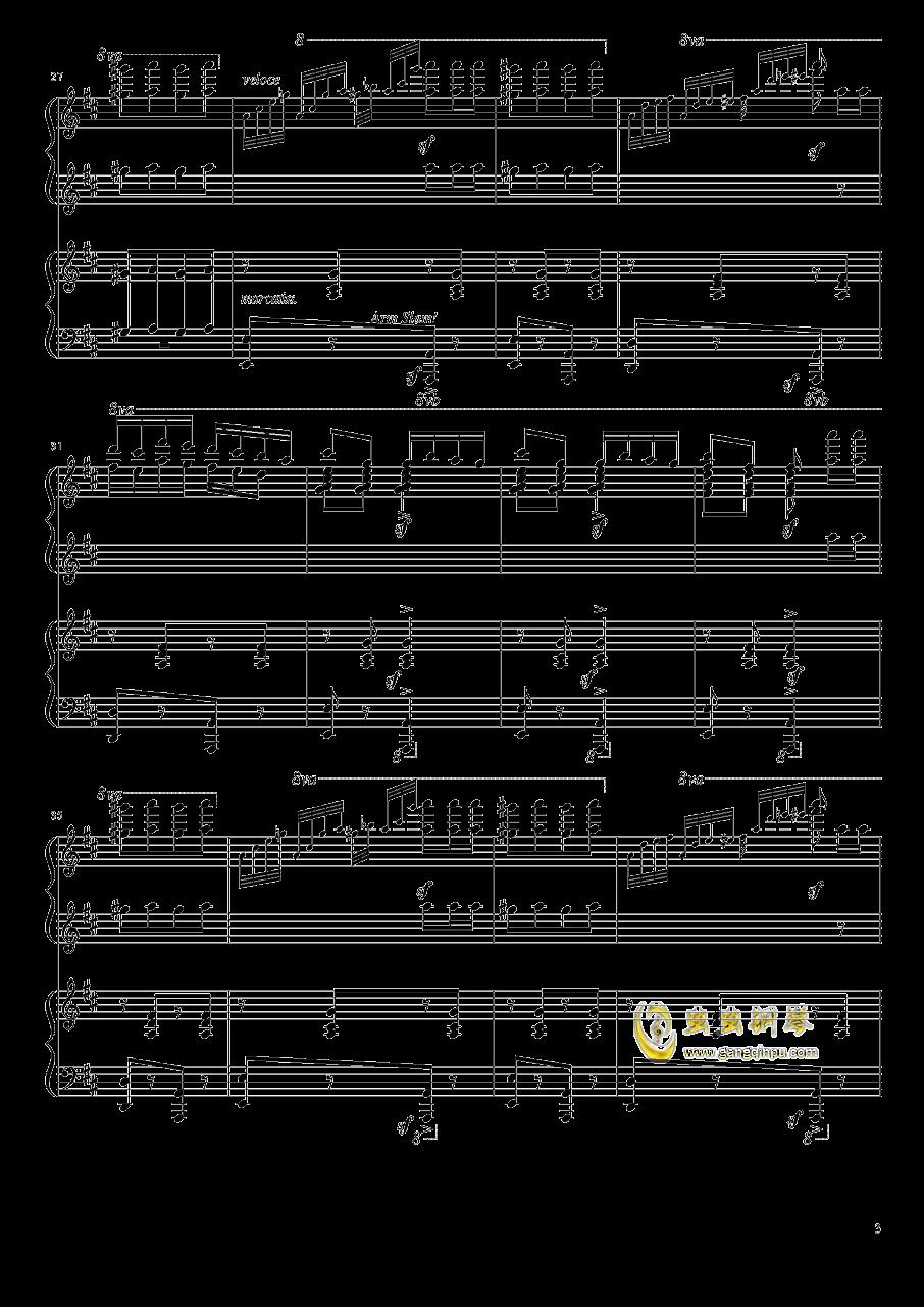 意大利波尔卡钢琴谱 第3页