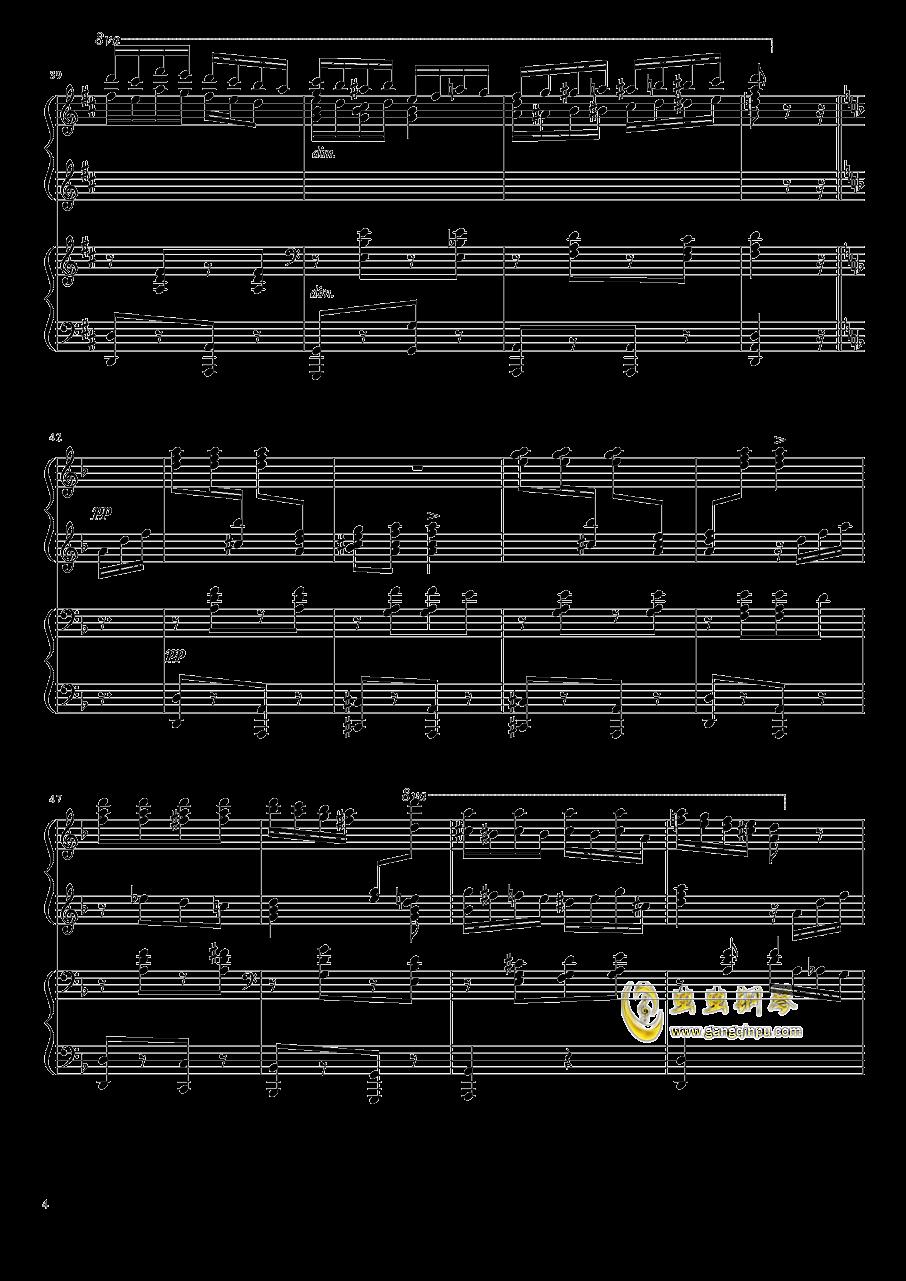 意大利波尔卡钢琴谱 第4页