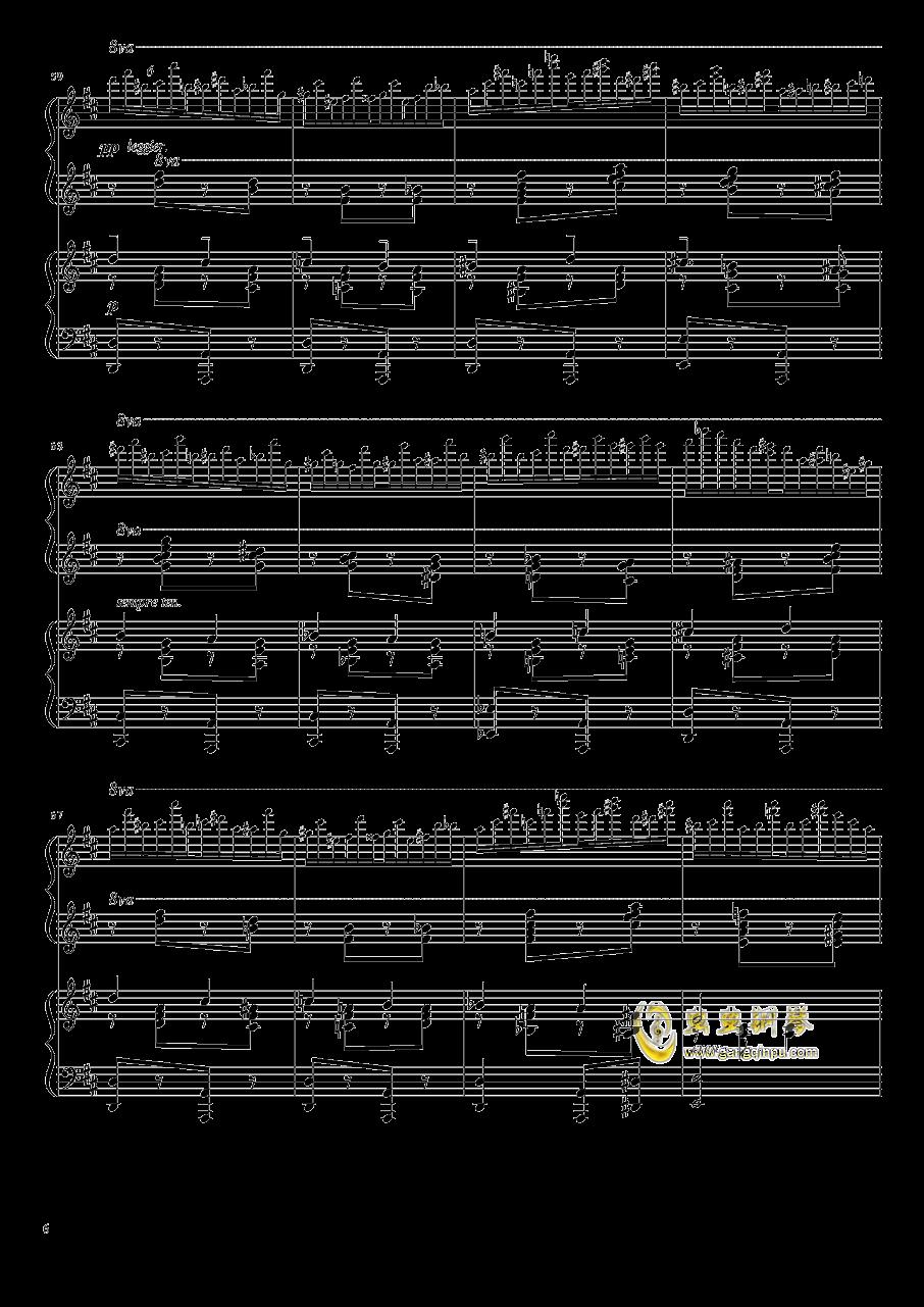 意大利波尔卡钢琴谱 第6页