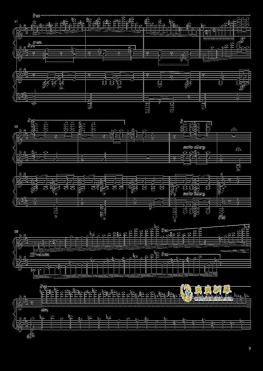 意大利波尔卡钢琴谱 第7页