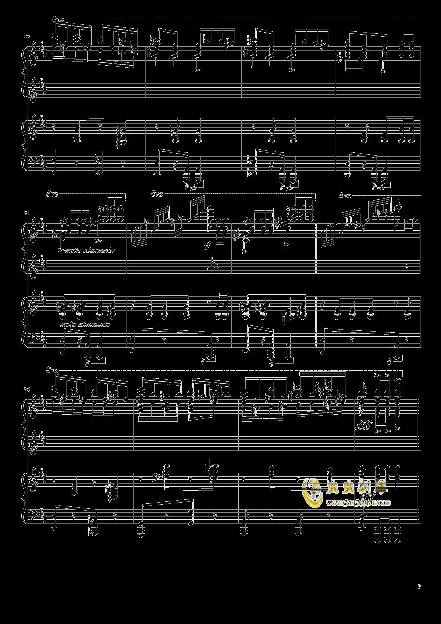 意大利波尔卡钢琴谱 第9页