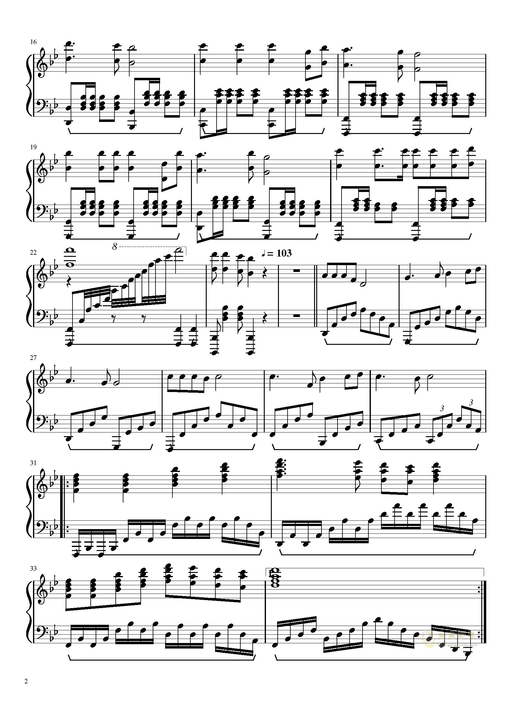 哈尔滨工程大学校歌钢琴版