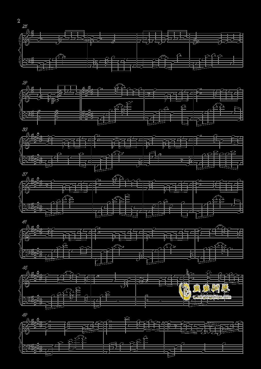 青石巷钢琴谱 第2页