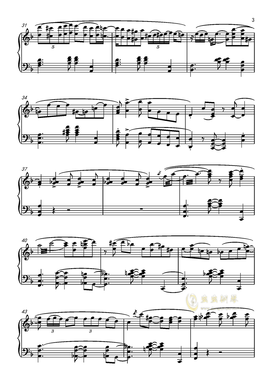 海上钢琴师 The Crave 1900版 原版 ,海上钢琴师 The Crave 1900版 原版 钢琴谱,海上钢琴师 The Crave 1900版 原版 钢琴谱网,海上钢琴师 The Crave