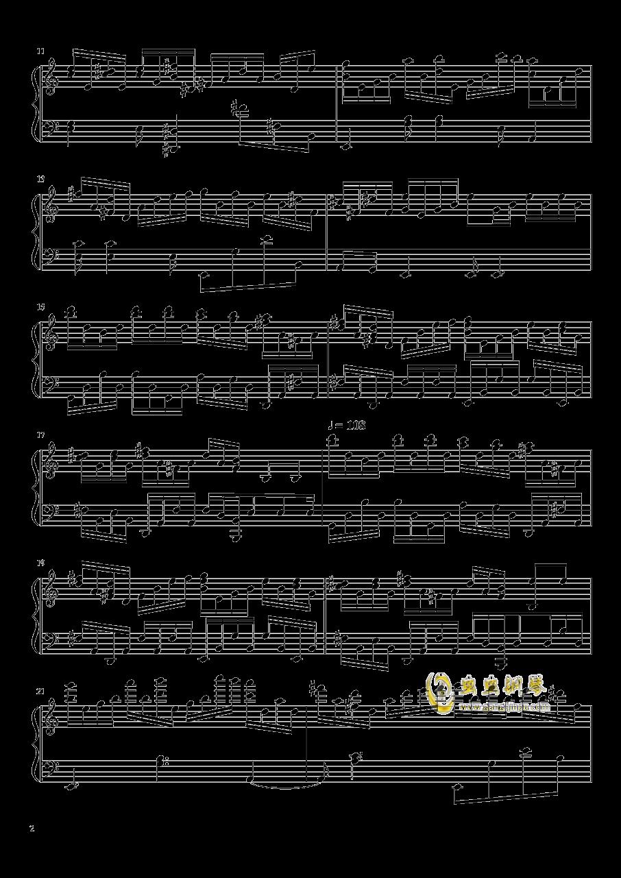 英国猎人钢琴谱 第2页