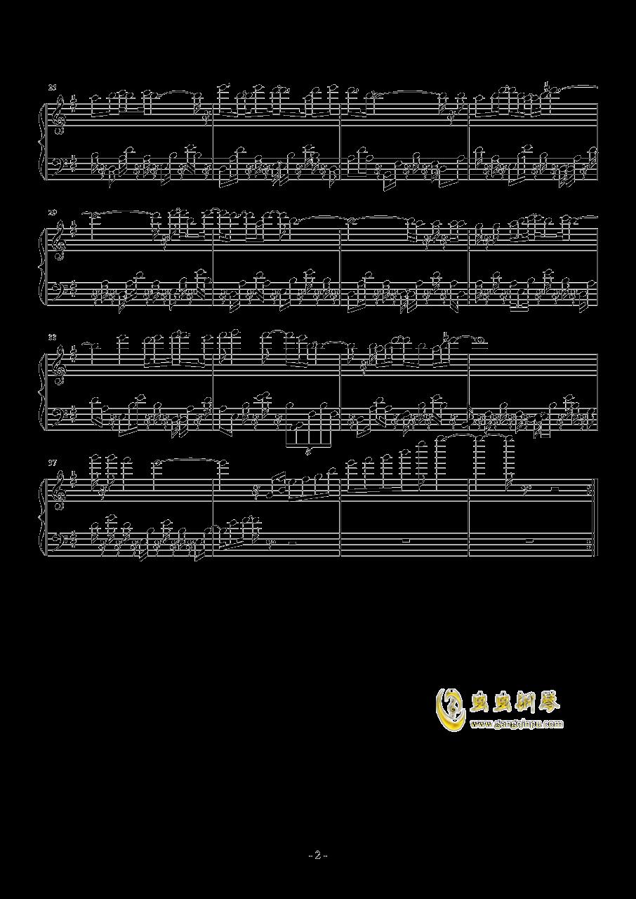 梦的光点钢琴谱 第2页
