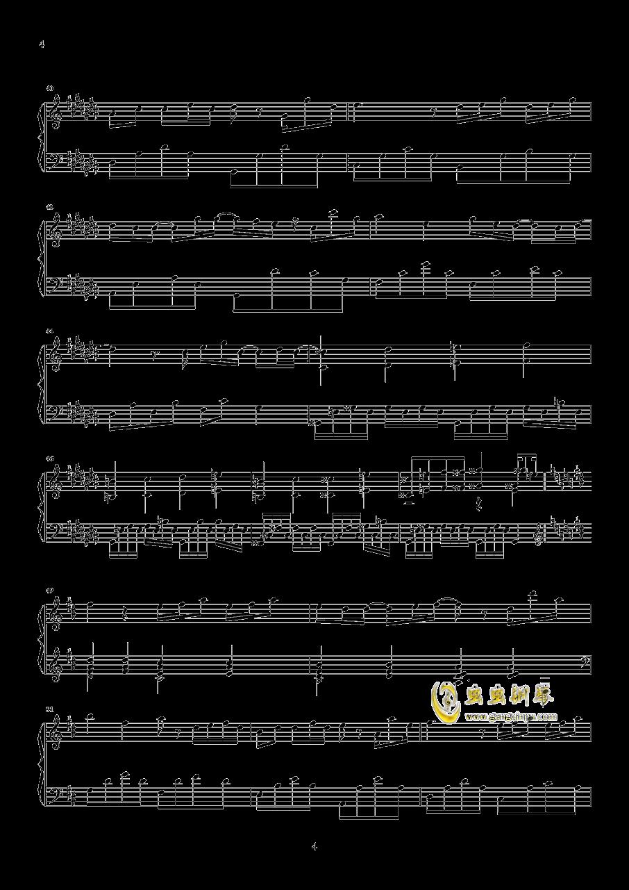 时光正好钢琴谱 第4页