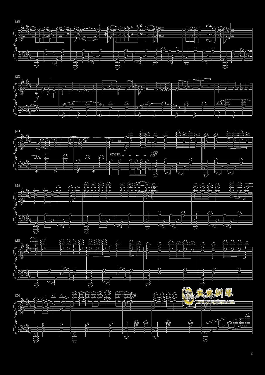 Despacito!!钢琴谱 第5页