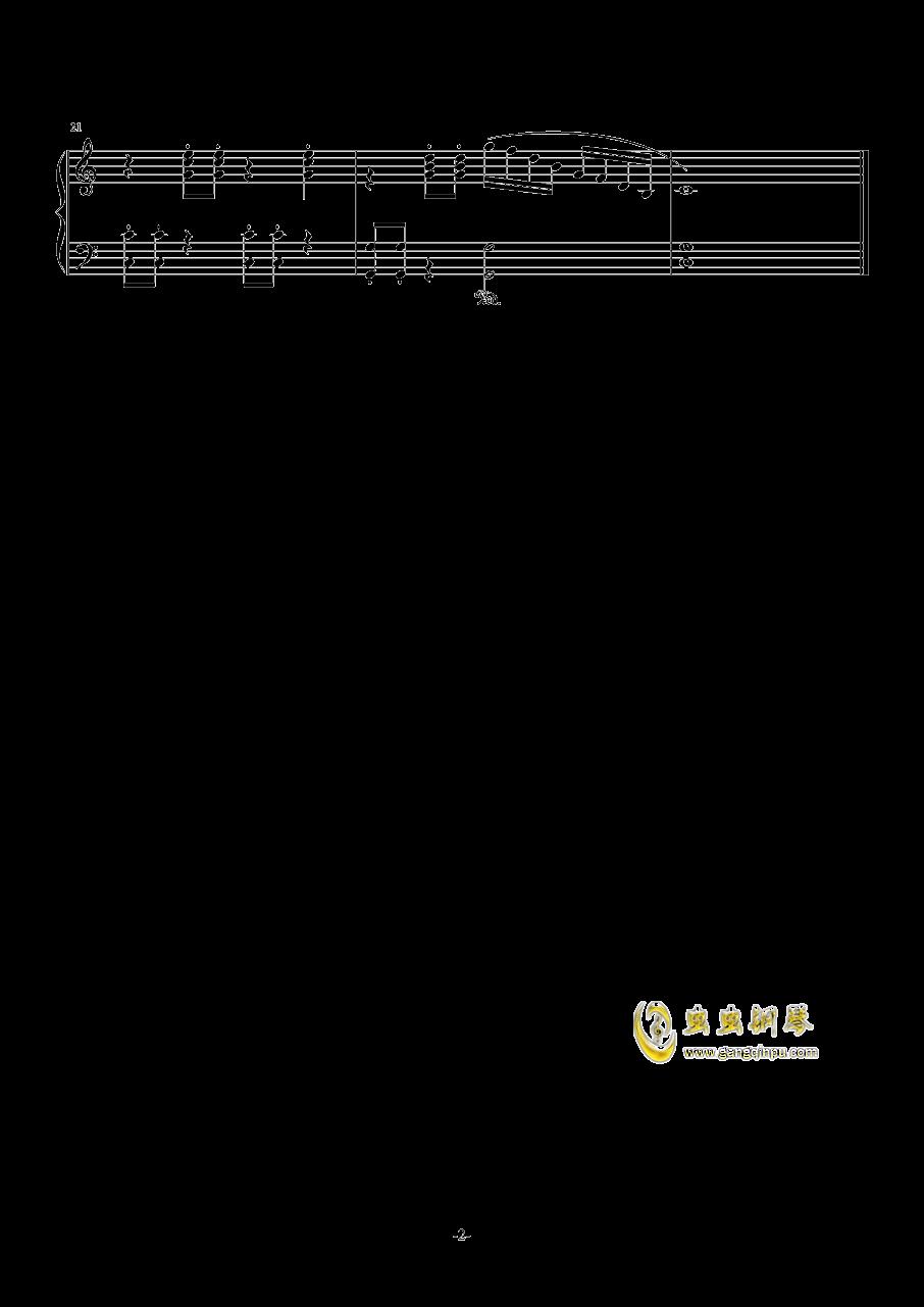 数鸭子正谱钢琴谱 第2页
