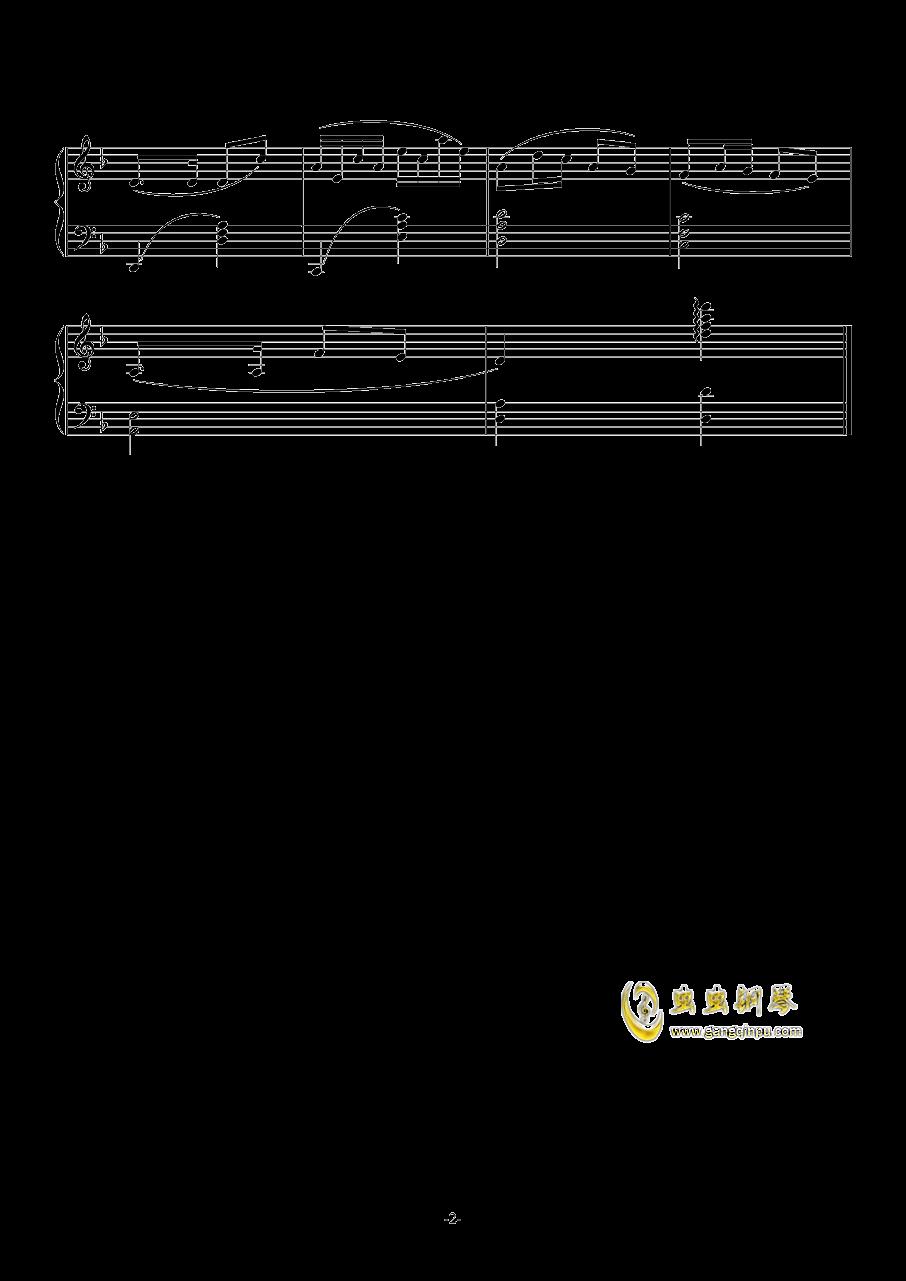 泥娃娃钢琴谱 第2页